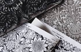 William Morris Wallpaper by Pure Wallpapers Collection By Morris U0026 Co Monochrome Wallpapers