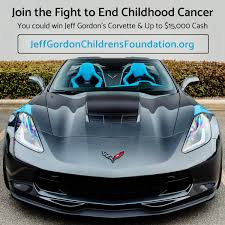 you could win jeff gordon u0027s personal corvette and up to 15 000