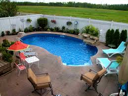 small backyard inground pool design outstanding ground swimming