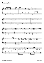 wedding dress chords piano wedding dress taeyang stave preview 4 free piano sheet