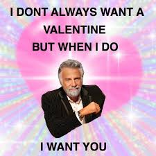 Most Intersting Man Meme - valentine s day memes if the most interesting man in the world