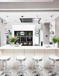 white gloss kitchen breakfast bar kitchen and decor