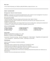 Event Manager Resume Sample by Event Planner Resume Old Version Old Version Old Version Event