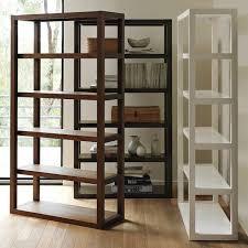 west elm white bookcase west elm parsons bookcase copycatchic