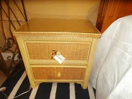 henry link wicker nightstand at the missing piece