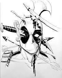comic view u2014 reillybrown deadpool commissions i u0027ll be a