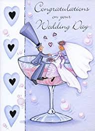 Congratulations On Your Wedding Day A4 Large Card Congratulations On Your Wedding Day Card
