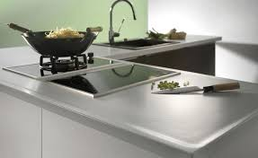 plan de travail en grès cérame de cuisine systemceram
