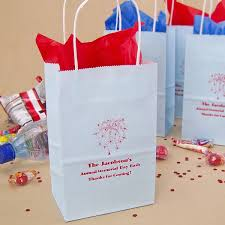 personalized party favor bags 5 x 8 custom printed paper party gift bags with handles