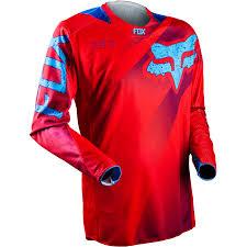 fox motocross t shirts fox racing 360 flight honda red motocross jersey enduro shirt bmx