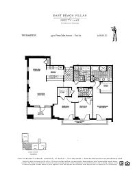 Waterfront Floor Plans Floor Plans Of East Beach Norfolk Villas Luxury Condos Villas