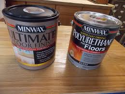 putting floor finish to the test minwax