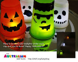 super simple halloween luminaries from plastic cups fun crafts