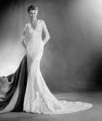 elva wedding dress with a v neck favorite brides for spring