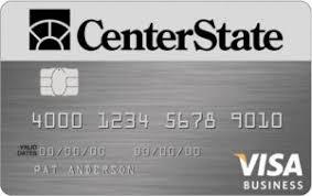 Visa Business Card Business Credit Cards Centerstate Bank