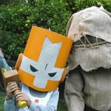 Crusher Halloween Costume Behemoth Blog Diy Castle Crashers Helmet