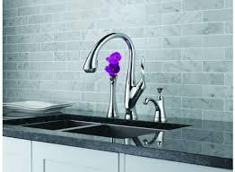 brizo kitchen faucets reviews brizo 63052lf pc belo single handle pull kitchen faucet