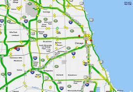 Illinois Tollway Map Chicago Traffic And Commuting Conditions At 6 A M Chicago Sun Times