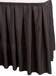 Pleated Table Covers Amazon Com Linentablecloth 14 Ft Accordion Pleat Polyester Table