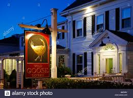 wild goose tavern chatham cape cod stock photo royalty free image