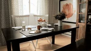 Narrow Dining Room Tables Small Dining Room Arranging