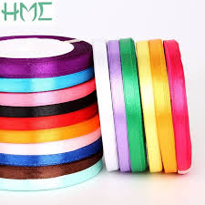 cheap ribbons 25 yards roll ribbons high quality cheap decorative satin ribbon 7mm