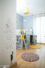 am ager chambre enfant chambre jaune de garçon 5 ans delphine guyart design côté maison