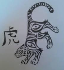 tribal zodiac tiger by danaxneuro on deviantart