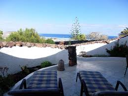 bungalow in famara beach tranquility and sea views lovely garden
