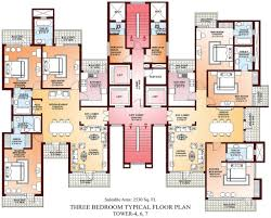 Three Bedroom Design Floor Plan Designs For Apartments Your House Katelyngreer