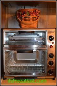 Large Toaster Oven Reviews Brylane Home Double Toaster Oven Review It U0027s Free At Last