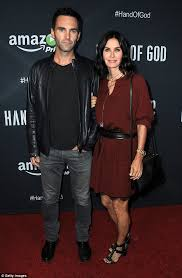 cox wedding dress courteney cox is engaged again to johnny mcdaid after brief