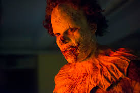 a terrifying transformation into a u0027clown u0027 in these new images