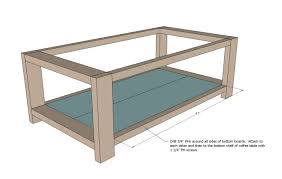 Side Table Plans Coffee Tables Mesmerizing Simple Free Diy Coffee Table Plans