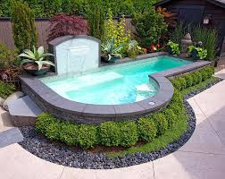 swimming pool garden design ideas small pools a images of small