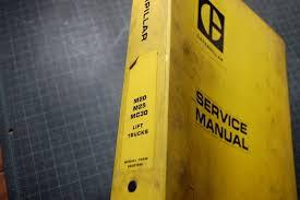 caterpillar m20 m25 mc30 forklift service manual cat shop