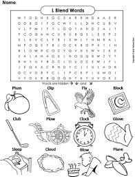 l blends word search by sciencespot teaching resources tes