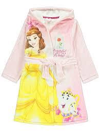 disney belle dressing gown kids george