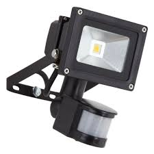 biard 10w led floodlight with pir motion security sensor
