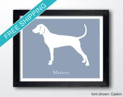 bluetick coonhound names bluetick coonhound etsy