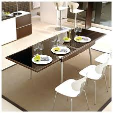 Ideas For Expanding Dining Tables Expandable Dining Room Tables For Small Spaces Impressive Ideas