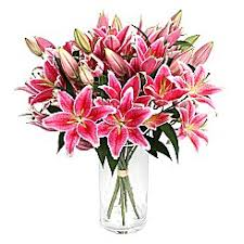 bouquet of lilies lilies bouquet with free delivery serenata flowers