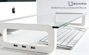 uboard tablette de bureau avec ports usb intégrés