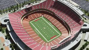 Royals Stadium Map Kansas City Chiefs Virtual Venue By Iomedia