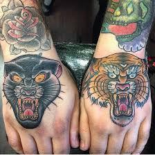 11 epic panther tiger tattoos tattoodo