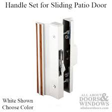 Patio Door Handle With Lock Sliding Glass Door Handle Replacement Sliding Door Hook Lock