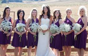 purple dress bridesmaid purple infinity dress multi way dress dress