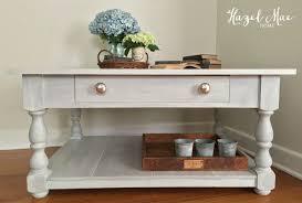 whitewashed coffee table hazel mae home