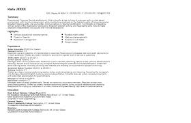Skills Section Of Resume 100 Experience Section Of Resume Examples Customer Service