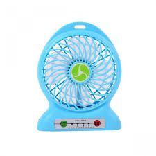 Cheapest Home Prices by Cheapest F95b Portable Mini Rechargable Fan Blue Singapore